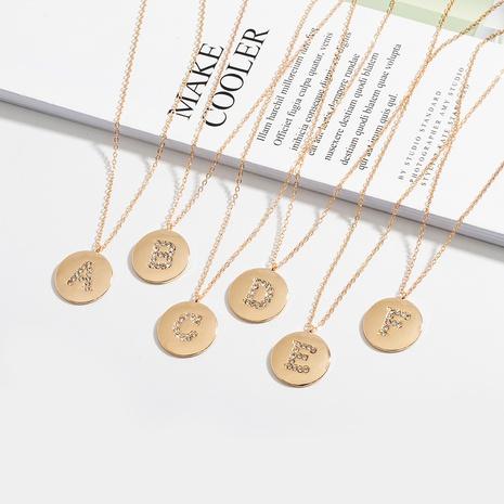Collier alphabet anglais Korea Fashion 26 NHAI308513's discount tags