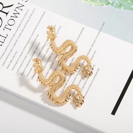 Retro drachenförmige Mode Ohrringe NHAI308519's discount tags