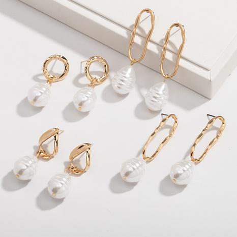 Großhandel Barock Perlen Mode Ohrringe NHAI308527's discount tags