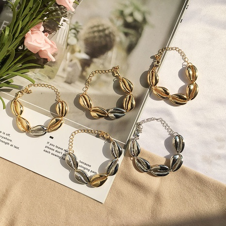 Bohemian simple Shell Bracelet NHAI308536's discount tags