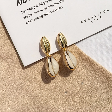 Mode Perle Muschel Ohrringe Großhandel NHAI308547's discount tags