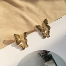 fashion creative butterfly bee retro alloy earrings NHAI308562