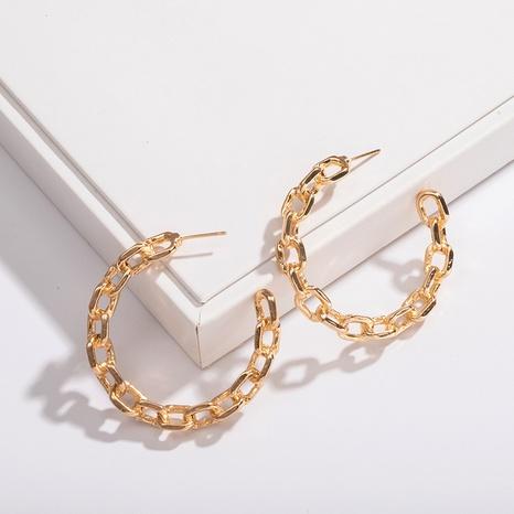 fashion new metal chain earrings NHAI308599's discount tags