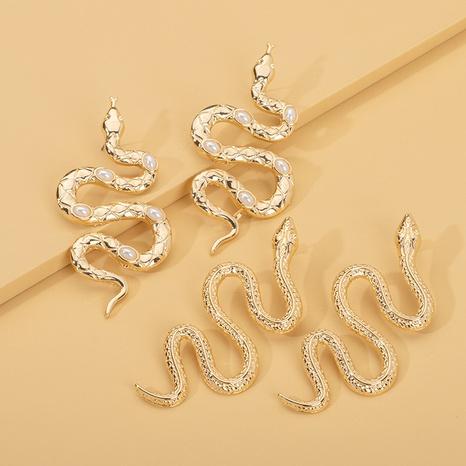 Schlange lange Ohrringe Großhandel NHAI308604's discount tags