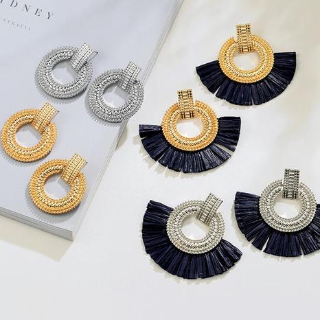 boho retro tassel earrings  NHAI308620's discount tags