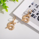 wholesale snake retro earrings NHAI308621