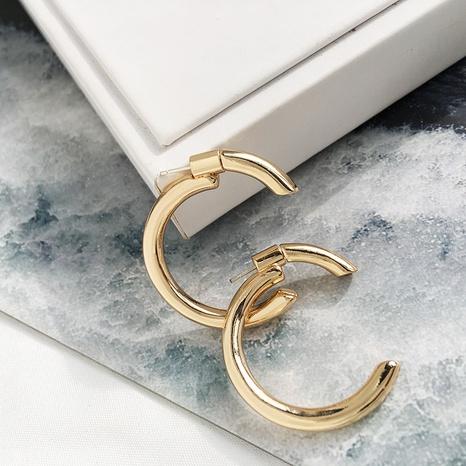 C-förmige halbkreisförmige hintere Ohrringe NHAI308627's discount tags