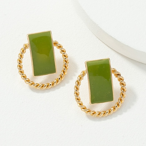hit color fashion retro earrings NHQJ308653's discount tags