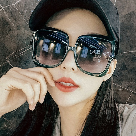 new simple anti-ultraviolet sunglasses NHKD308284's discount tags