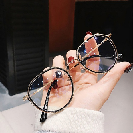new korean simple metal polygonal glasses  NHKD308287's discount tags