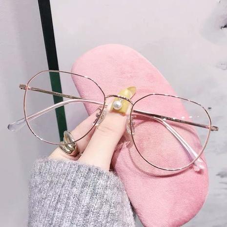 Large frame anti-blue light glasses NHKD308289's discount tags