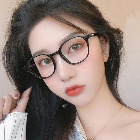 Korean fashion anti-blue light flat mirror rice nailed glasses  NHKD308290's discount tags