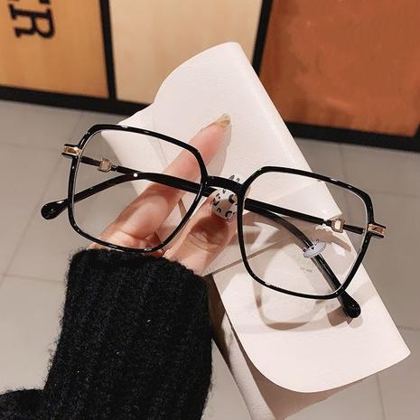 Anti-blue square new TR90 plain glasses NHKD308296's discount tags