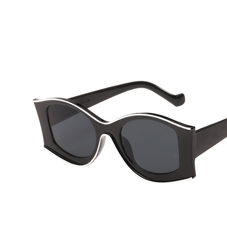 simple irregular new exaggerated sunglasses NHKD308299's discount tags
