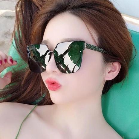 simple square new korean retro sunglasses NHKD308307's discount tags