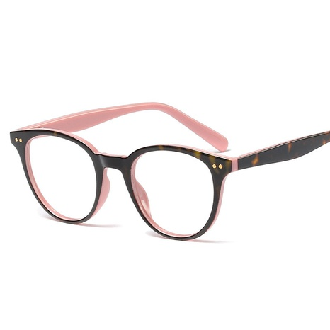 retro rice nail round frame flat mirror glasses NHFY308316's discount tags