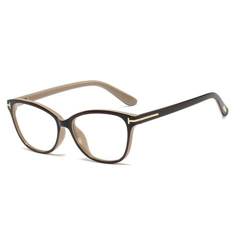 new fashion retro flat mirror frame glasses NHFY308341's discount tags