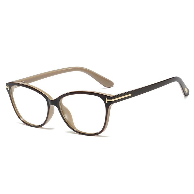 neue Mode Retro flache Spiegelrahmen Brille NHFY308341
