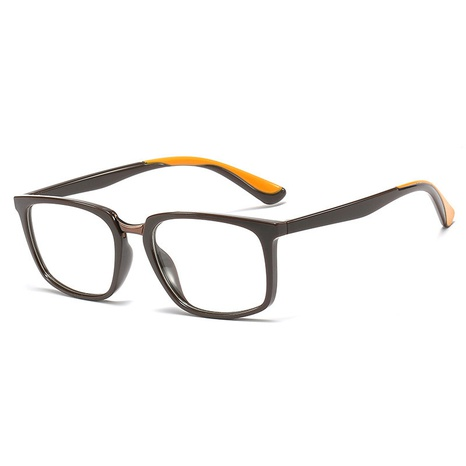 new retro square small frame flat mirror glasses NHFY308345's discount tags
