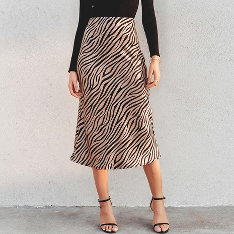 Fashion new striped sexy skirt NHDE308707's discount tags