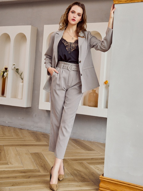 new simple fashion slim sexy suit  NHDE308723's discount tags