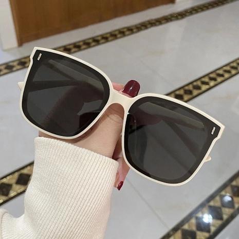 New Square Big Frame Fashion Sunglasses  NHKD308297's discount tags