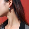 NHOK1406936-Pair-of-steel-gray-imitation-pearl-ear