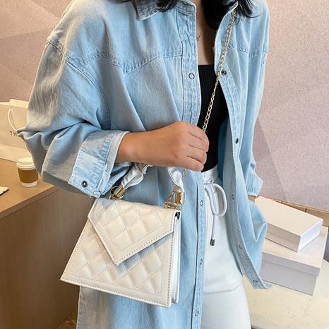 petit sac carré à motif losange NHRU308830's discount tags