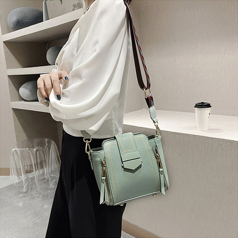 simple fashion shoulder small square bag  NHRU308864's discount tags