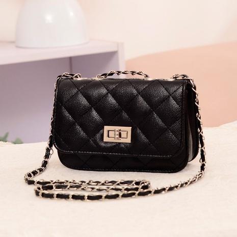 nueva bolsa de bloqueo de giro de cadena rómbica de moda NHRU308883's discount tags