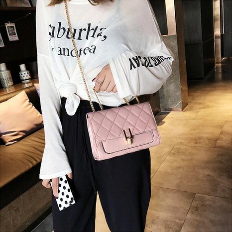 nuevo bolso cuadrado de cadena de bloqueo en forma de U de moda coreana NHRU308949's discount tags