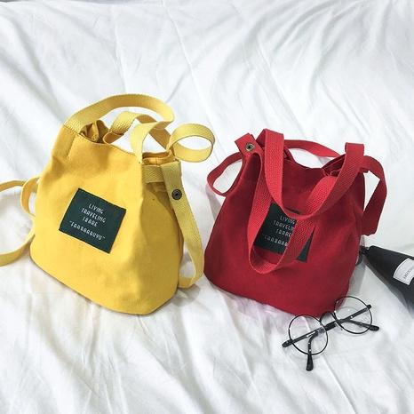 bolso pequeño de lona de nueva moda NHRU309007's discount tags