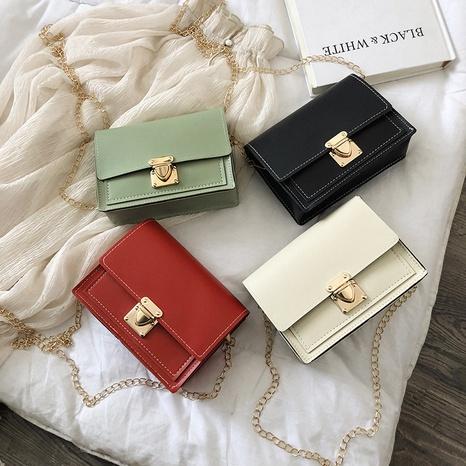 nouveau petit sac carré de chaîne d'épaule coréenne de mode NHRU309026's discount tags