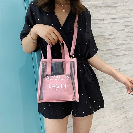 nouveau sac à bandoulière de mode transparent NHRU309033's discount tags