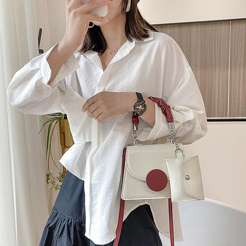 fashion messenger small square bag NHRU309119