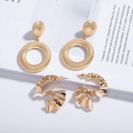 einfache unregelmäßige geometrische Ohrringe NHAI309247's discount tags
