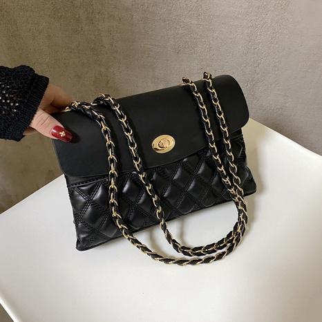 bolso cuadrado con hilo bordado de rombos NHTG309256's discount tags