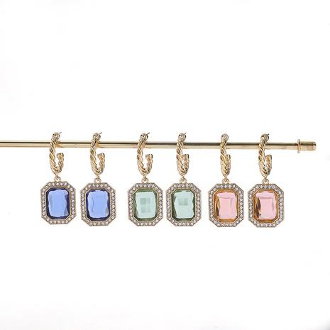 Korean geometric fashion earrings NHLL309293's discount tags