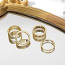 glossy irregular geometric ring NHLL309318