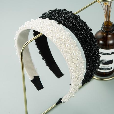 fashion gypsophila pearl headband wholesale NHLN309342's discount tags