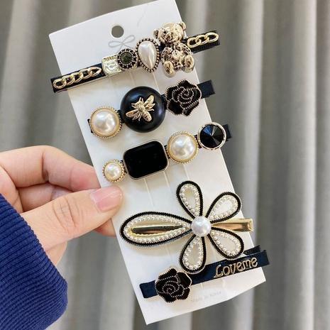 ensemble d'épingles à cheveux en perles de mode NHAQ309368's discount tags