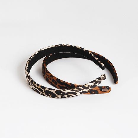 nueva diadema con estampado de leopardo simple NHAR309415's discount tags
