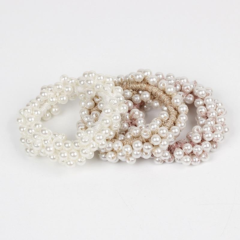 pearl sweet and simple hair rope NHAR309417