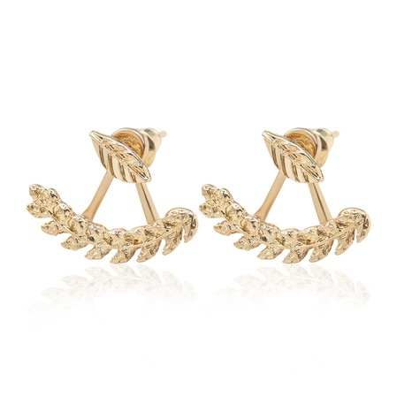 simple fashion leaf earrings  NHDP309535's discount tags