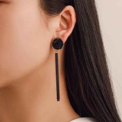 simple long tassel earrings  NHDP309616's discount tags