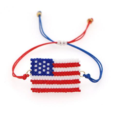 Armband mit amerikanischer Flagge NHGW309657's discount tags