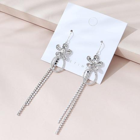simple long fashion tassel earrings NHPS309676's discount tags