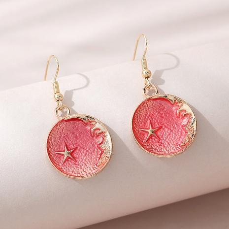 Mode coréenne peinture créative petites boucles d'oreilles cinq étoiles NHPS309694's discount tags