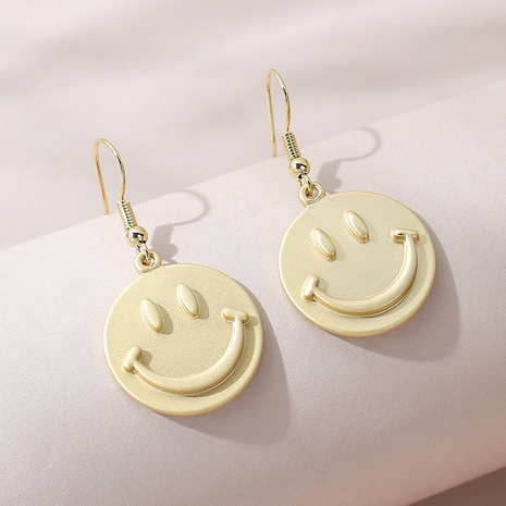 boucles d'oreilles de poupée smiley simple sauvage NHPS309695's discount tags