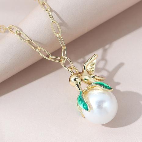 Koreanische Retro kreative wilde Mode Stil Perlenkette NHPS309698's discount tags